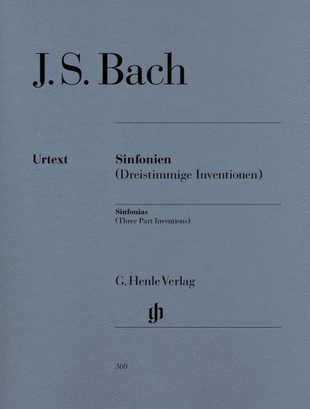 Sinfonias BWV 787-801 (Three Part Inventions)