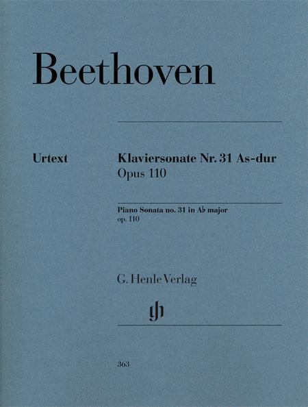 Piano Sonata No. 31 in A Flat Major Op. 110