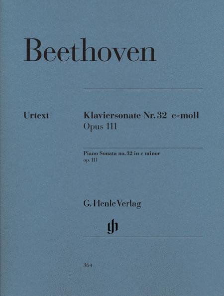 Piano Sonata No. 32 in C minor Op. 111