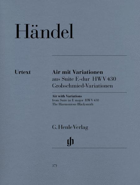 Air with Variations from Suite in E major (The Harmonious Blacksmith)