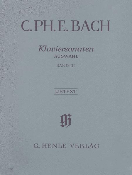 Selected Piano Sonatas - Volume III
