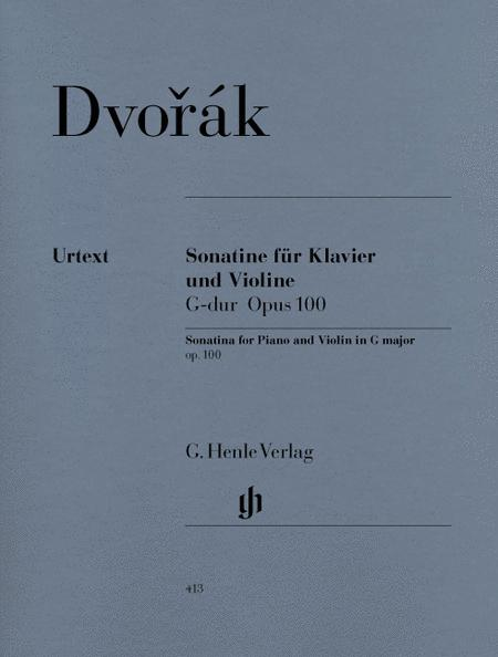 Sonatina for Piano and Violin in G major Op. 100