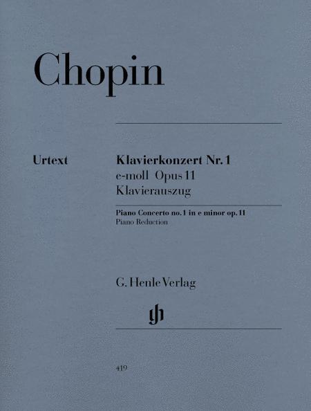 Concerto for Piano and Orchestra E minor Op. 11, No. 1