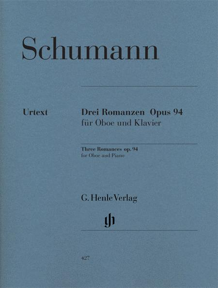 Romances for Oboe and Piano, Op. 94 - Oboe (or Violin) and Piano
