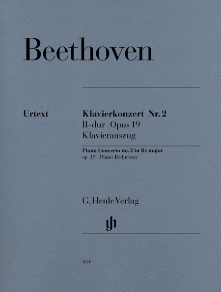 Concerto for Piano and Orchestra B Flat Major Op. 19, No. 2