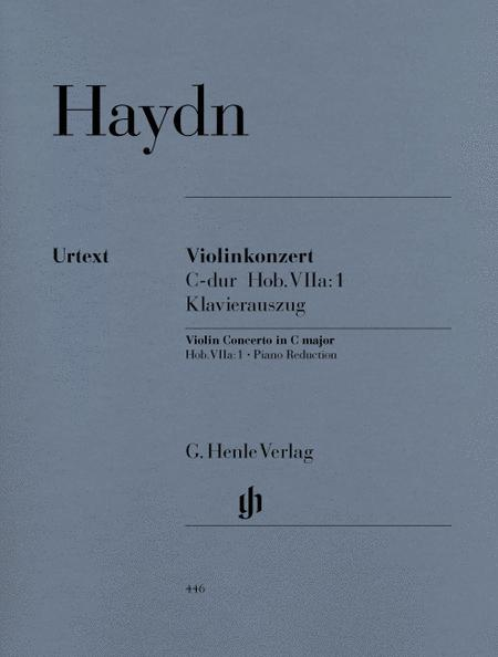 Concerto for Violin and Orchestra C major Hob. VIIa:1