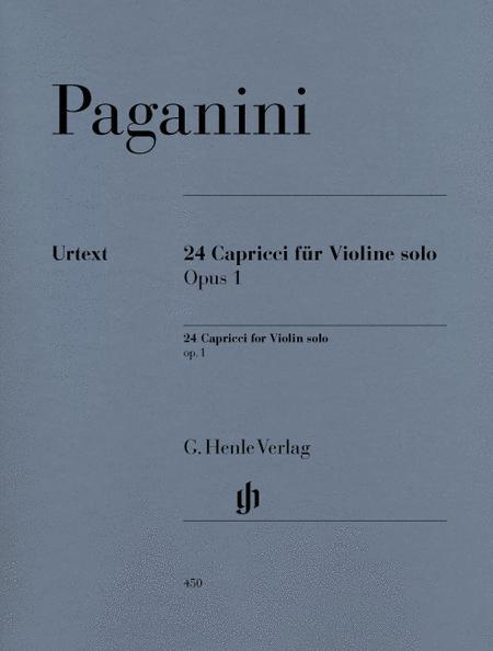 24 Capricci for Violin Solo Op. 1