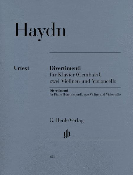 Divertimenti for Piano (Cembalo) with 2 Violins and Violoncello