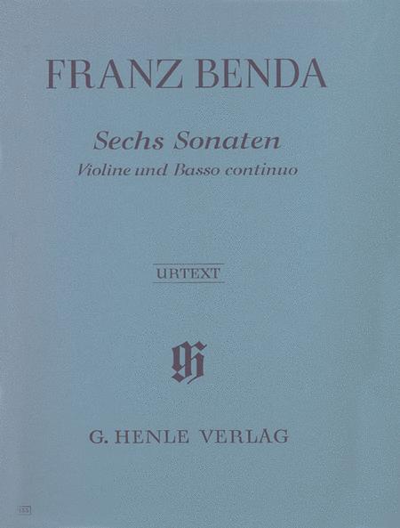 6 Sonatas for Violin and Basso Continuo