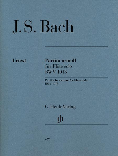 Partita in A minor for Flute Solo BWV 1013