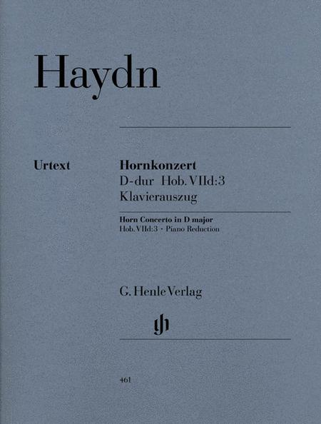 Concerto for Horn and Orchestra in D major Hob. VIId:3