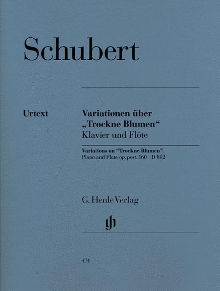 Variations on Trockne Blumen in E minor, Op. Posth. 160, D 802