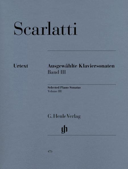 Selected Piano Sonatas, Volume III