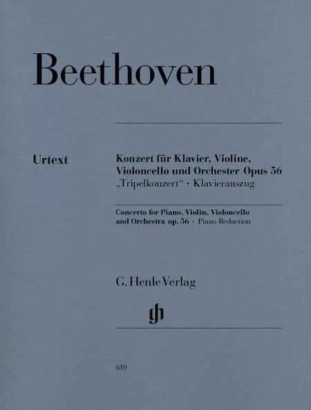 Concerto for Piano, Violin, Violoncello, and Orchestra C Major Op. 56
