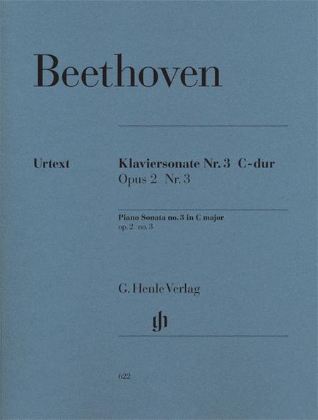 Piano Sonata No. 3 in C Major Op. 2, No. 3