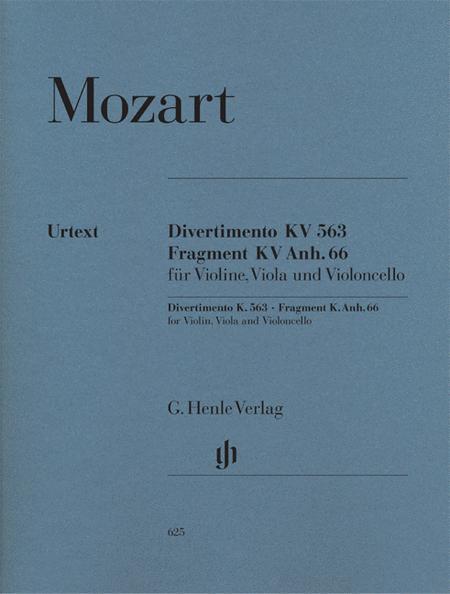 String Trio E Flat Major K.563