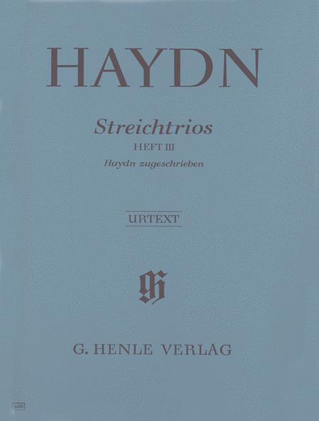String Trios, Volume III (attributed to Haydn)