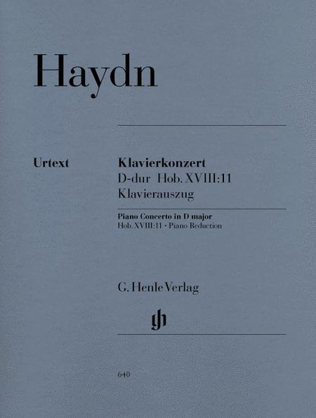 Concerto for Piano (Harpsichord) and Orchestra D Major Hob.XVIII:11