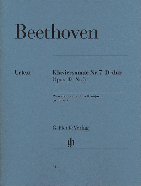 Piano Sonata D major op. 10/3