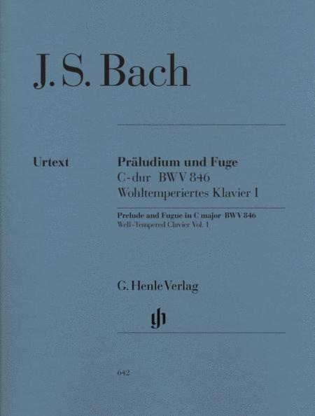 Prelude and Fugue C Major BWV 846 from The Well-Tempered Clavier Part I