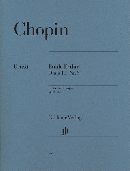 Etude in E Major Op. 10, No. 3
