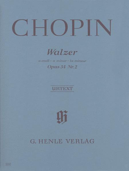 Waltz in A minor Op. 34, No. 2