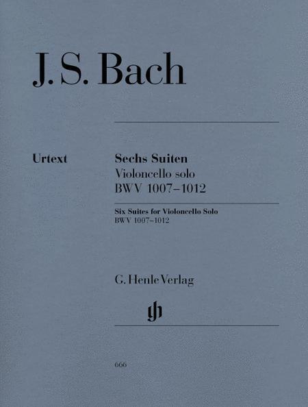 6 Suites for Violoncello solo BWV 1007-1012