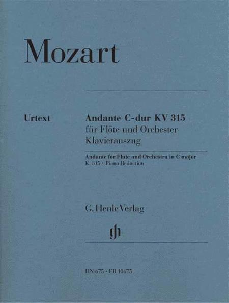 Andante for Flute and Orchestra C Major, K. 315