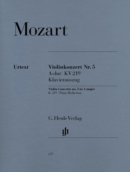 Violin Concerto No. 5 in A Major K219