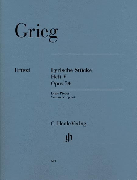 Lyric Pieces, Volume V Op. 54