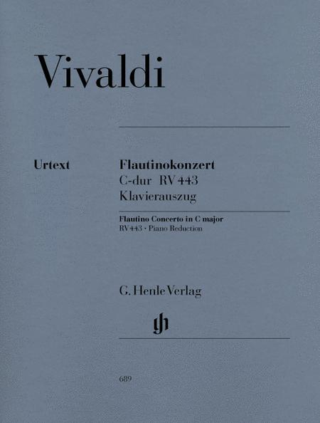 Concerto for Flautino (Recorder/Flute) and Orchestra C major op. 44/11 RV 443