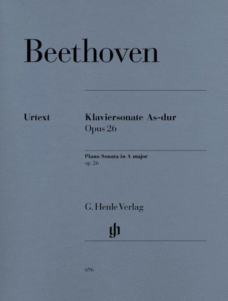 Piano Sonata No. 12 in A flat Major Op. 26
