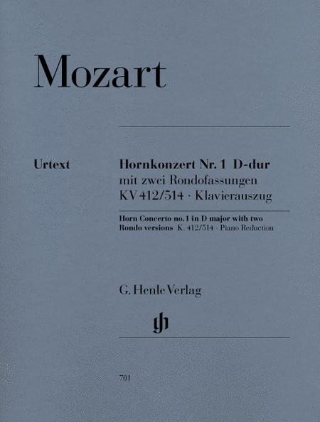 Concerto for Horn and Orchestra No. 1 D major KV 412/514
