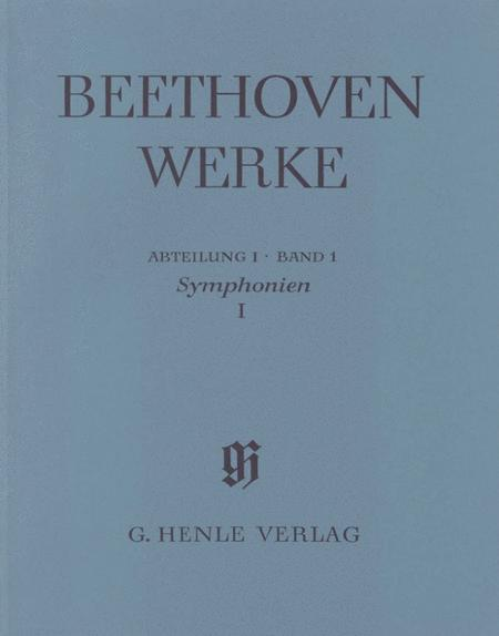 Symphonies I No. 1 and 2