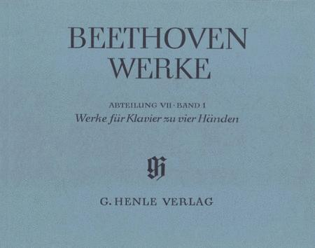 Works For Piano Four-hands, series VII Volume 1