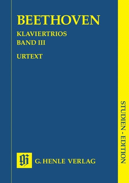 Piano Trios - Volume III