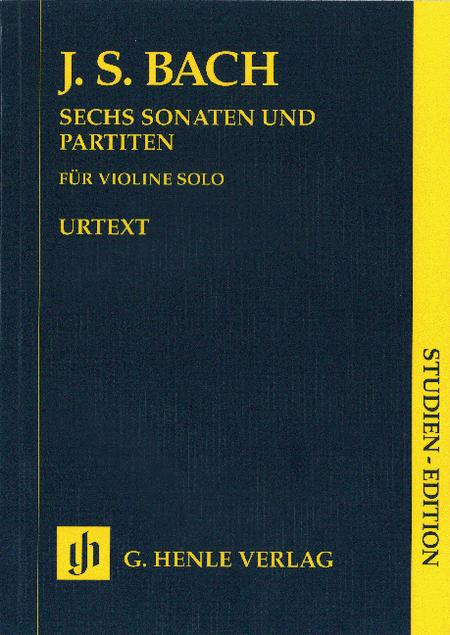 Sonatas and Partitas BWV 1001-1006 for Violin solo (notated and annotated version)