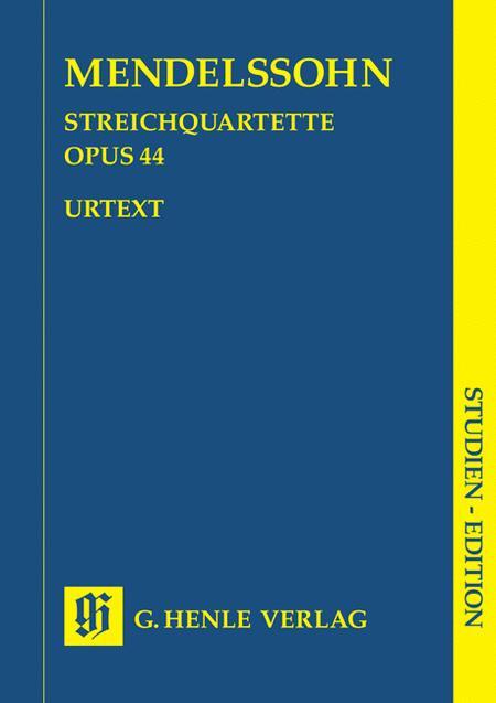 String Quartets op. 44/1-3
