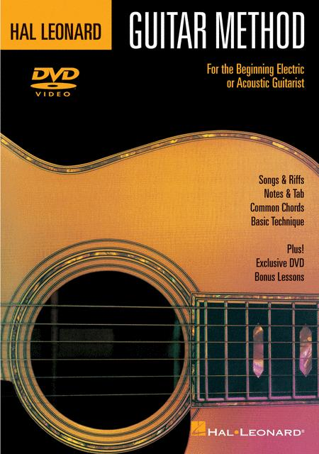 Hal Leonard Guitar Method (DVD)