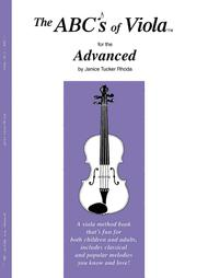 The ABC's of Viola for the Advanced - Book 3