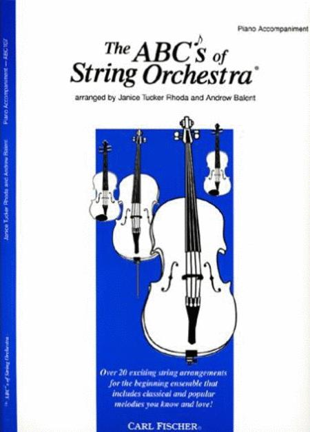 ABC's of String Orchestra (Piano)