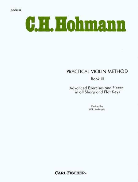 Practical Violin Method - Book III