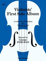 Violinists' First Solo Album