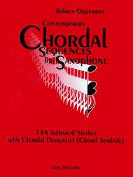 Contemporary Chordal Sequences For Saxophone