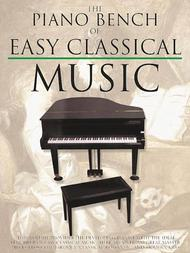 Piano Bench Of Easy Classical