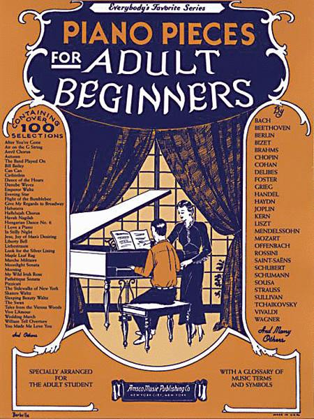 Piano Pieces For Adult Beginners
