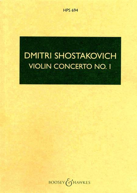 Violin Concerto No. 1, Op. 77, Op. 99