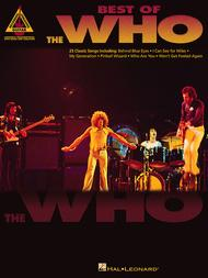 Best of The Who 					Guitar Recorded Versions 					 By The Who