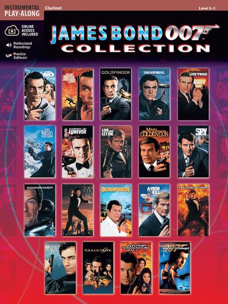 James Bond 007 Collection - Clarinet (Book/CD)
