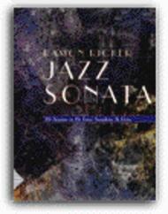 Jazz Sonata (Alto Sax or Baritone Sax) (CD included)